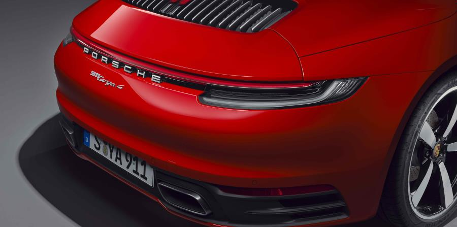 Detalle de la parte trasera del Porsche 911 Targa. (Suministrada)