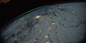 Así es la espectacular vista que tienen los astronautas de la Tierra desde el espacio