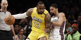 LeBron James está a 17 puntos de igualar la marca de Kobe Bryant