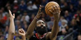 James Harden anota 49 puntos y los Rockets vencen a los Timberwolves