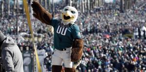 Los fanáticos de los Eagles festejan ...