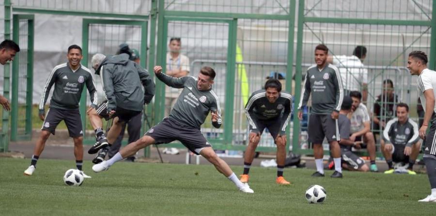La selección mexicana de fútbol realiza su entrenamiento matutino. (El Universal / GDA) (horizontal-x3)