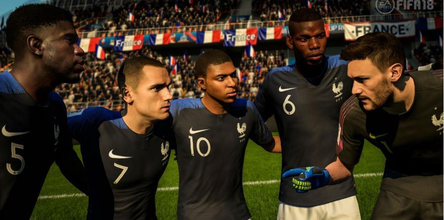 Francia campeón del Mundo de Fútbol (horizontal-x3)