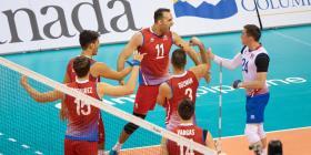 Victoria para la Selección masculina en el Preolímpico de voleibol