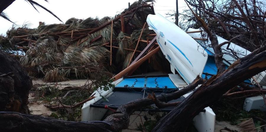 Aunque el daño de Necker es inmenso, Branson recalcó, la prioridad es ayudar a los cientos de personas que perdieron sus hogares en la zona. (horizontal-x3)