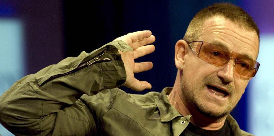 El líder de la banda U2 fundó
