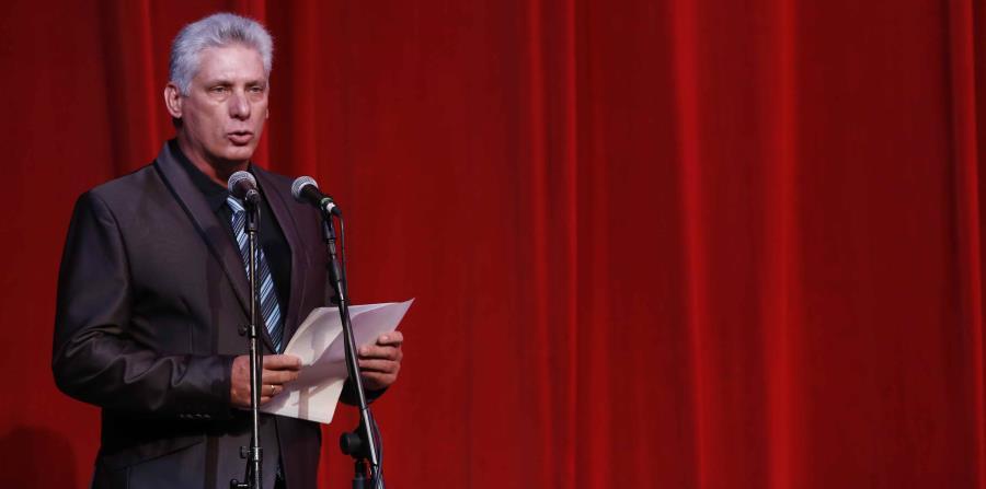 Miguel Díaz-Canel, presidente de Cuba.  (EFE) (horizontal-x3)