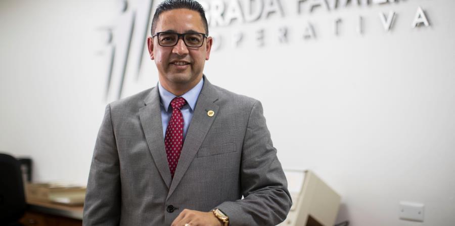 Eddie Alicea es el presidente ejecutivo de la Cooperativa Sagrada Familia desde el año 2012. (horizontal-x3)