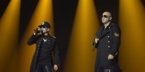 """Todo lo que no viste """"backstage"""" del concierto de Wisin y Yandel"""