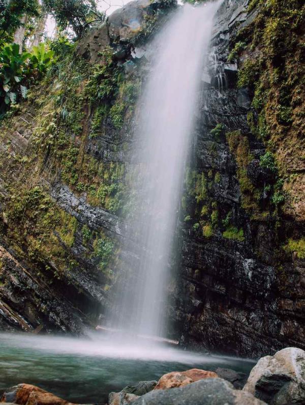 Cascada en El Yunque. (Suministrada)