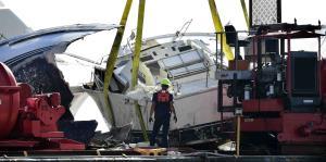 ¿Qué hace la Guardia Costera con las embarcaciones afectadas por María?
