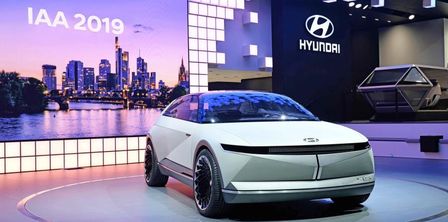 Hyundai 45 Concept. (Suministrada)