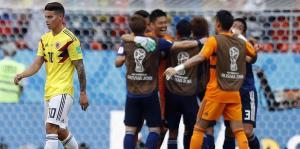 Colombia tuvo un debut de pesadilla contra Japón