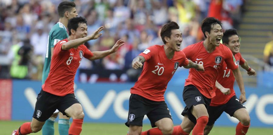 Corea del Sur se despidió del Mundial con un triunfo sobre Alemania. (AP) (horizontal-x3)