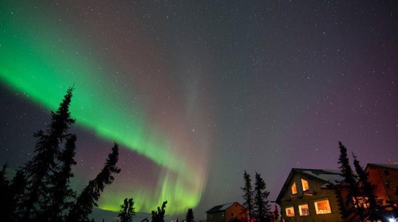 Aurora boreal en Alaska. (Suministrada)