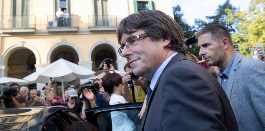 El expresidente autonómico de Cataluña, Carles Puidgemont (horizontal-x3)