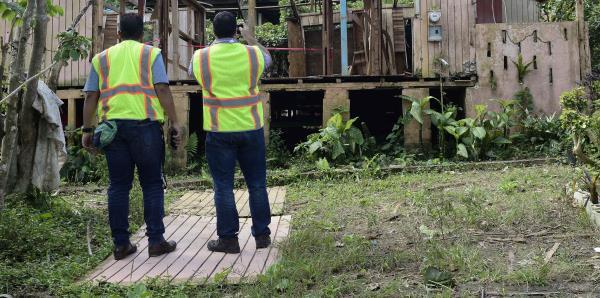 La aprobación de las obras permanentes para la recuperación va a paso lento