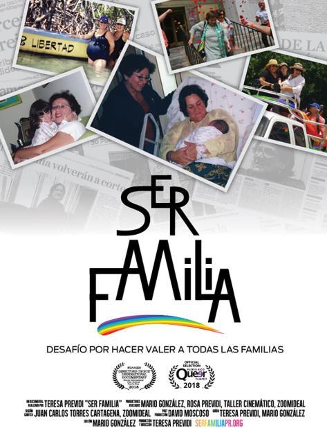 """Entre los títulos nacionales que participarán en la sección llamada Boriqueer se encuentra el documental """"Ser familia"""", de la cineasta Teresa Prévidi. (Suministrada) (vertical-x1)"""