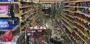 Imágenes de los daños causados por el terremoto que sacudió a California el 4 de julio