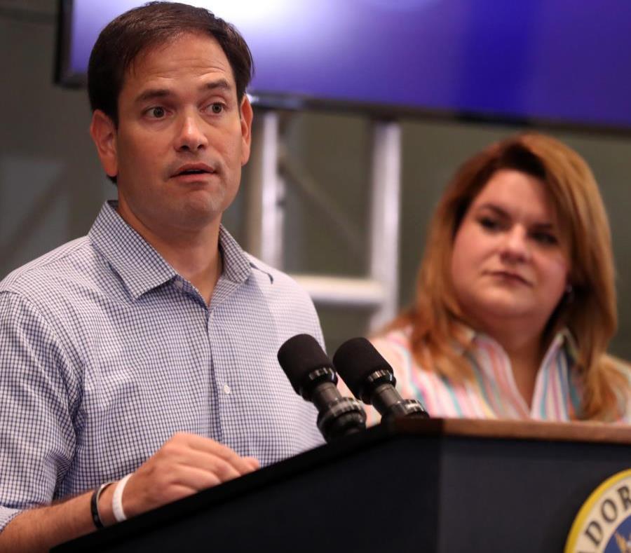Republican Senator Marco Rubio and Resident Commissioner Jenniffer González. (semisquare-x3)
