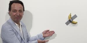 Pareja que compró banana por $120,000 cree que la obra será un ícono del arte contemporáneo