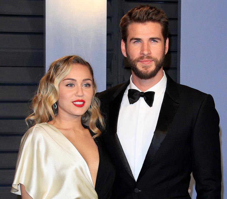 Miley Cyrus y su novio Liam Hemsworth fueron algunos de los damnificados (semisquare-x3)