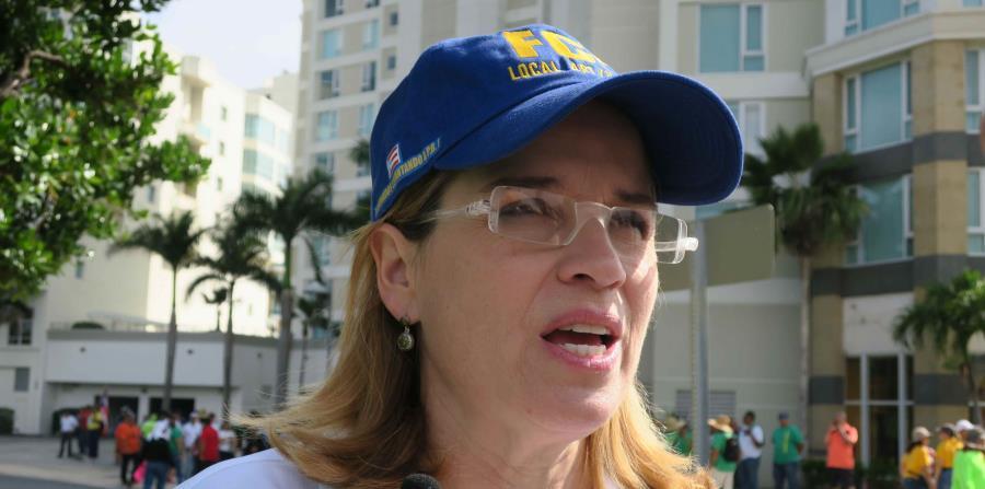 La alcaldesa de San Juan, Carmen Yulín Cruz. (GFR Media) (horizontal-x3)