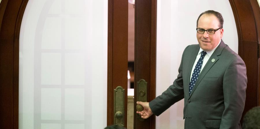 Perelló renunció a la presidencia de la Cámara de Representantes en agosto pasado, en medio de una crisis por el juicio federal contra allegados suyos. (horizontal-x3)