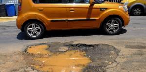Sanjuaneros se quejan por el mal estado de las carreteras
