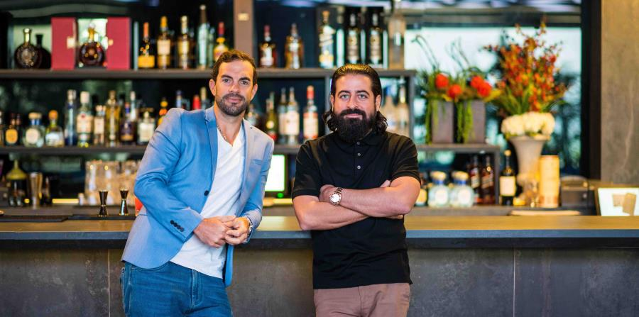 Los propietarios Paco López y Matt Moncada.