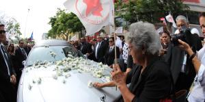 Populares rinden homenaje a Rafael Hernández Colón en la sede del partido