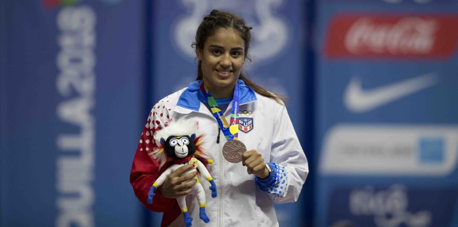 Además de la presea, Nes Marie Rodríguez clasificó a los Juegos Panamericanos Lima 2019. (horizontal-x3)