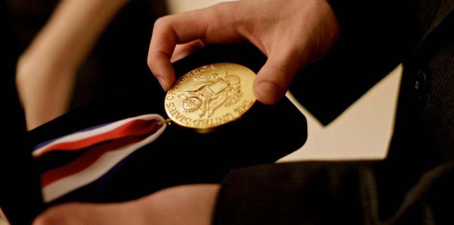 Los elegidos van a recibir la medalla presidencial en una ceremonia de reconocimiento. (horizontal-x3)