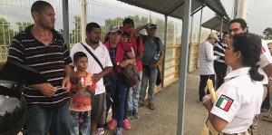 La caravana de migrantes continúa su éxodo hacia los Estados Unidos