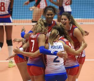 Las dominicanas serán las rivales de Puerto Rico en la semifinal del Campeonato Norceca