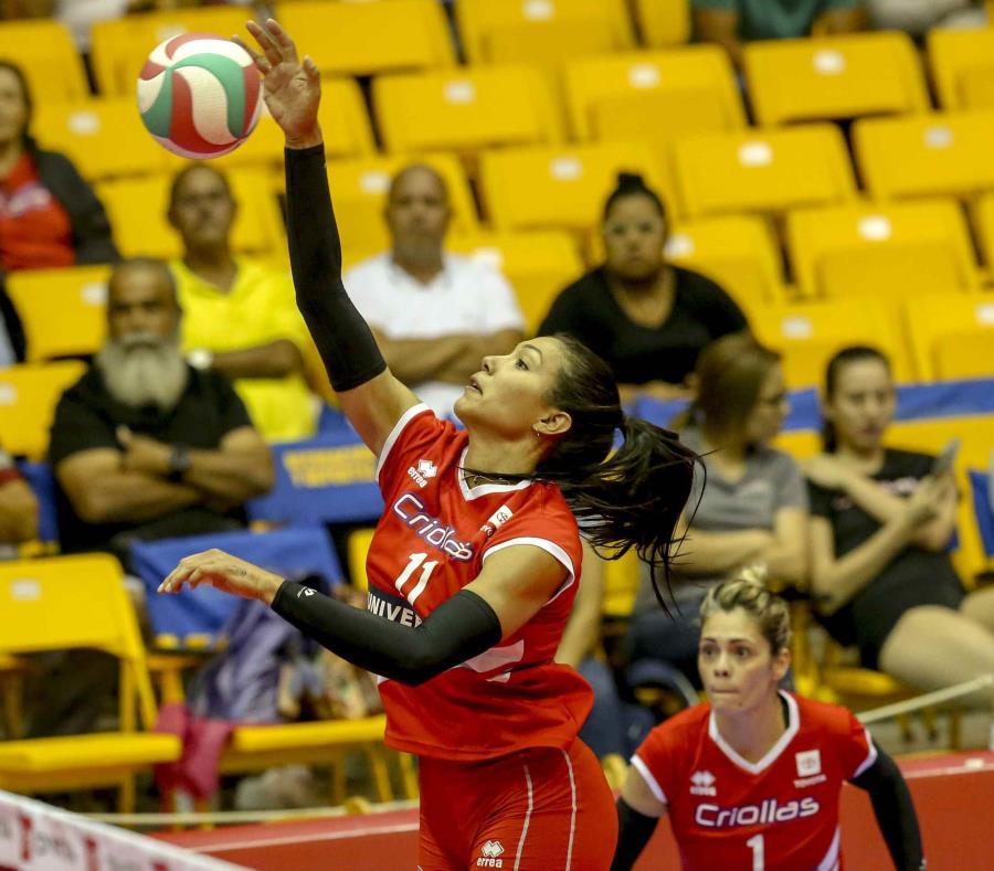 Karina Ocasio logró 15 puntos por las Criollas. (GFR Media) (semisquare-x3)