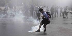 Nueva jornada de protestas y disturbios en Chile
