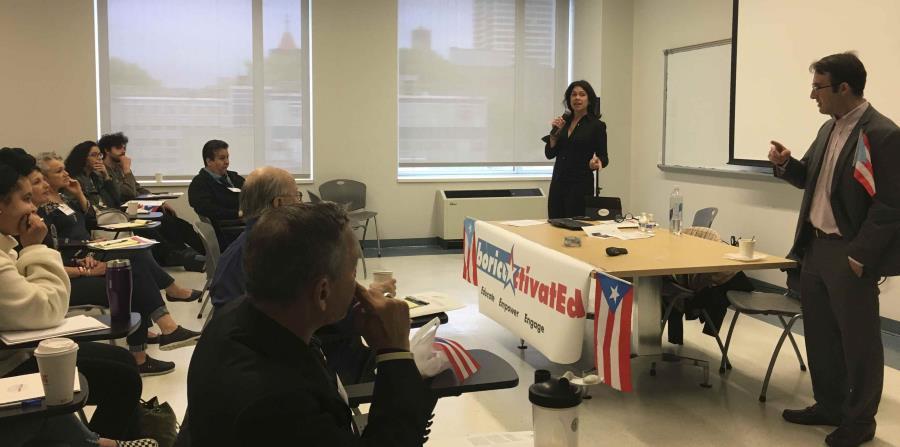 También buscan dar un panorama de los asuntos sobre Puerto Rico pendientes en el Congreso. Pero, evitan el debate sobre el status político de la Isla. (horizontal-x3)