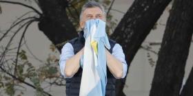 Mauricio Macri pide apoyo de argentinos en debate previo a elecciones