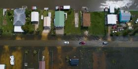 Imelda sigue provocando inundaciones en Texas y Louisiana