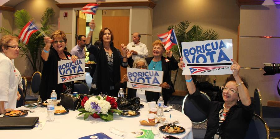 """En el simposio Nuestro Futuro, celebrado en la Universidad Central de Florida, se presentó  el estudio """"Puertorriqueños en la Florida"""" y se discutió la importancia del voto boricua. (horizontal-x3)"""
