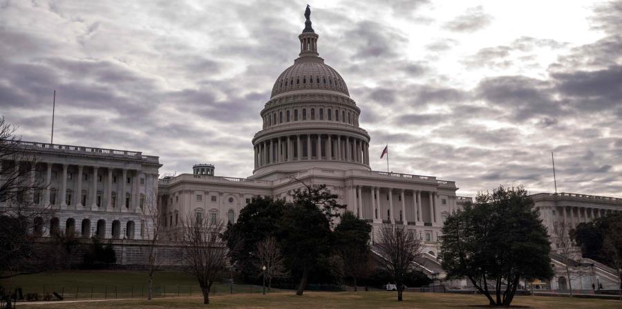 La legislación no avanzará en el Senado, pues los republicanos rechazan el lenguaje que permitiría reabrir todo el gobierno federal hasta el 8 de febrero. (AP) (horizontal-x3)