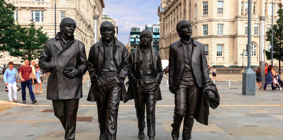 Escultura de Los Beatles en Liverpool (horizontal-x3)