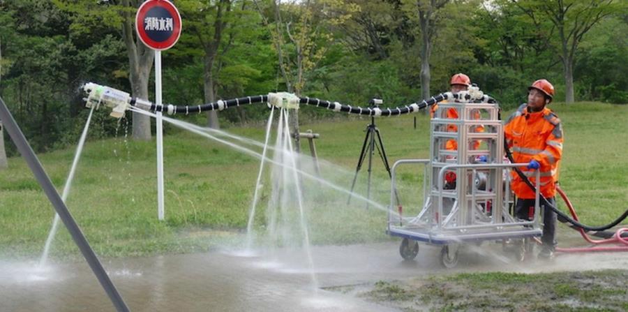 Esta manguera robótica ayudará a los bomberos en zonas de riesgo (horizontal-x3)