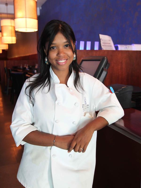 María Mercedes Grubb, chef ejecutiva de Gallo Negro. (Archivo GFR Media)