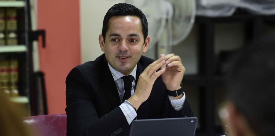 """""""Este tipo de herramienta aporta grandemente a lo que es la restauración de Puerto Rico"""", aseguró el secretario de Corrección y Rehabilitación, Erik Rolón. (horizontal-x3)"""