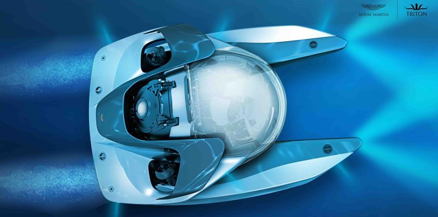 El Proyecto Neptuno, de Aston Martin, fue confeccionado en conjunto con Triton Submarines, con sede en Florida. (horizontal-x3)