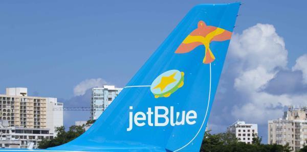 JetBlue estrena un avión con diseños boricuas