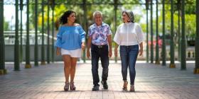 David Luciano emprendió en la edad dorada por sus hijas