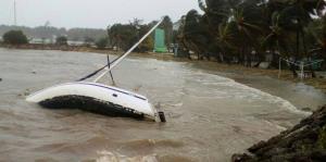 Guadalupe siente el embate del huracán María
